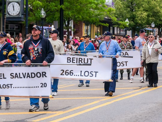 The annual Milford Memorial Day parade steps off Monday,