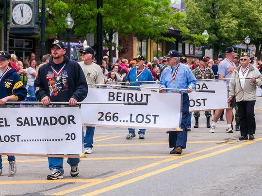 The annual Milford Memorial Day parade steps off Monday, May 29.