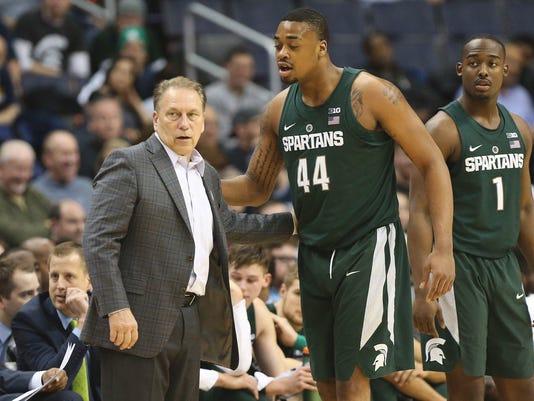 NCAA Basketball Big Ten Tournament Michigan State vs Minnesota