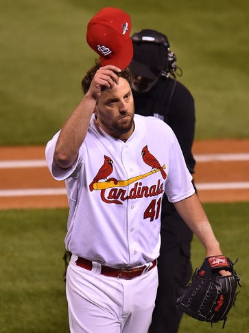 John Lackey pitched seven-plus shutout innings to beat