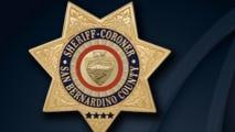San Bernardino Country Sheriff's logo.