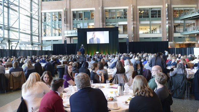 Green Bay Packers Foundation distributed $800,000 in grants Tuesday to 213 organizations across Wisconsin during a luncheon at Lambeau Field.