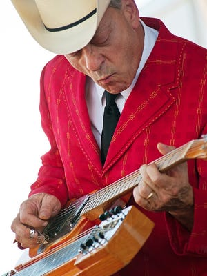 Junior Brown plays the jazz fest Saturday at Anthology.