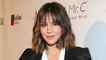 """After funding a preschool in Africa and hearing about cases of malaria among students and teachers, actress/singer Katharine McPhee was determined to """"continue to help"""" defeat this treatable disease."""