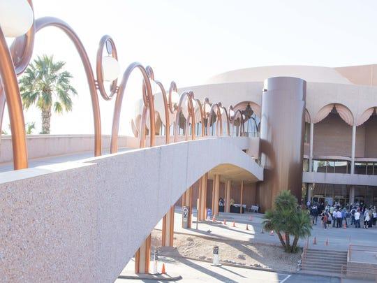 ASU Gammage, the Frank Lloyd Wright-designed auditorium