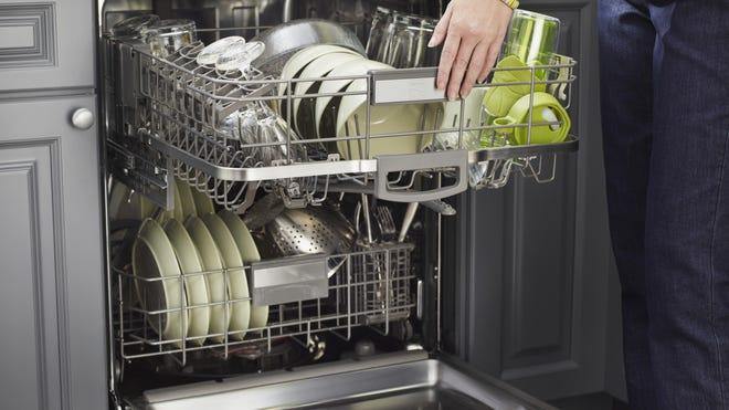 Kenmore Elite Dishwasher 12793 with 360 Degree Powerwash Plus.