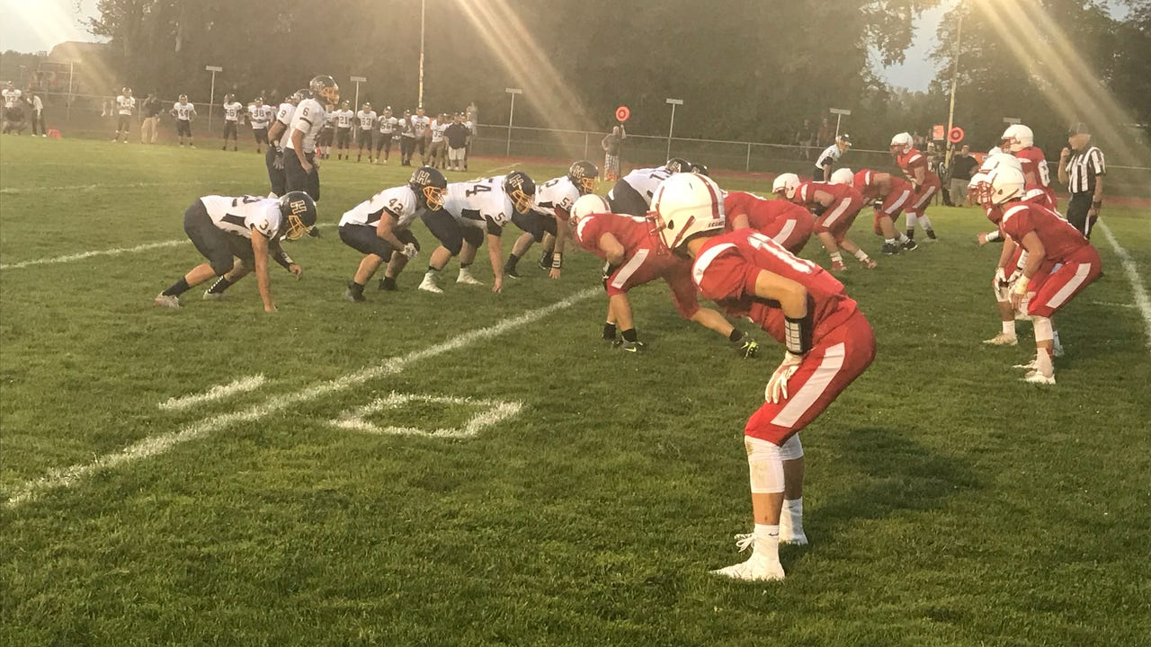 Highlights: Red Hook football hosts Highland in homecoming game