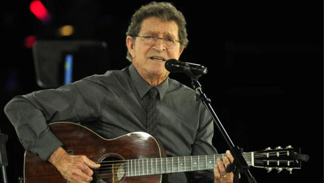 Mac Davis performs at the BMI Country Music Awards on November 3, 2015, in Nashville.