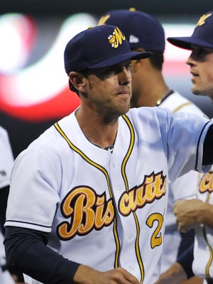 Manager Brady Williams and the Montgomery Biscuits are 21/2 games ahead in the Southern League North Division.
