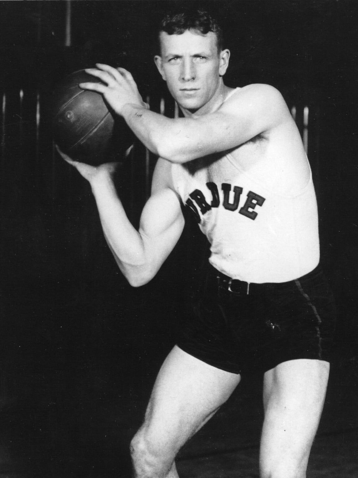John Wooden at Purdue in 1931.