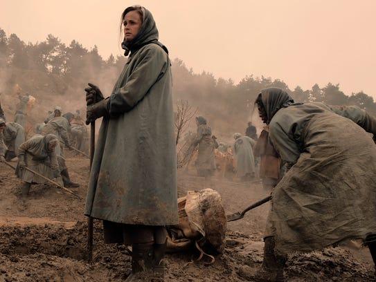 "Alexis Bledel as Emily/Ofglen in ""The Handmaid's Tale."""