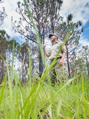 Florida Forest Service firefighter and spokeperson