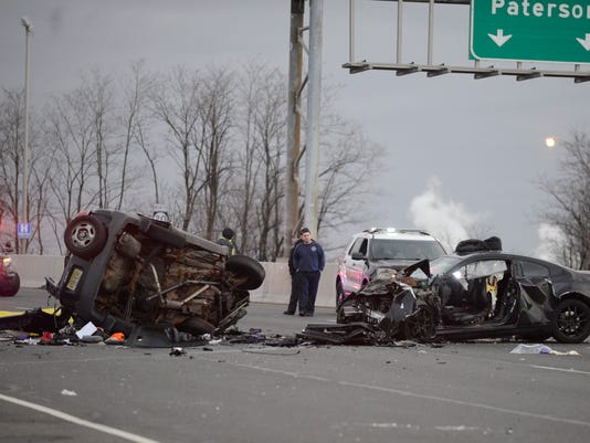 Victim of deadly Route 46 crash ID'd as a Clifton man