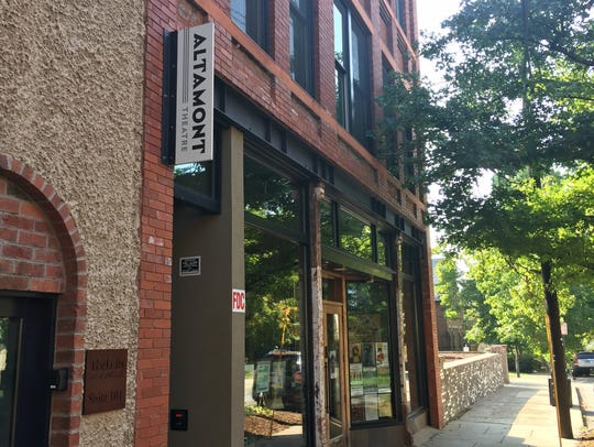 Asheville's Altamont Theatre at 18 Church St. is no