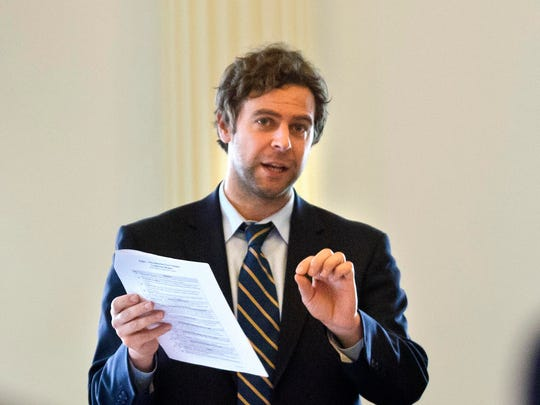 Sen. Tim Ashe, P/D-Chittenden, says it may be time