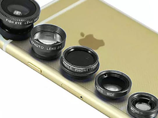 Clip and Snap Smartphone Camera Lenses