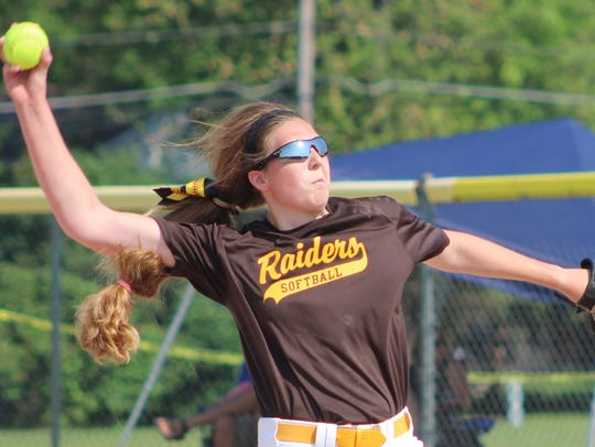 North Farmington senior pitcher Sam Cherney had another