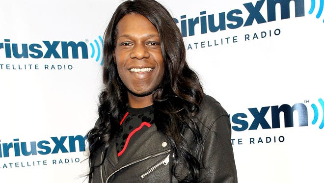 Big Freedia in studio during Jenny McCarthy's SiriusXM Show 'Dirty, Sexy, Funny With Jenny McCarthy' live from The SiriusXM Studios In Los Angeles on February 27, 2015.
