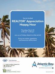 Realtor Appreciation Happy Hour