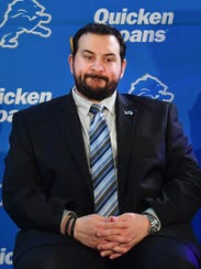 Expect new Lions head coach Matt Patricia to be involved