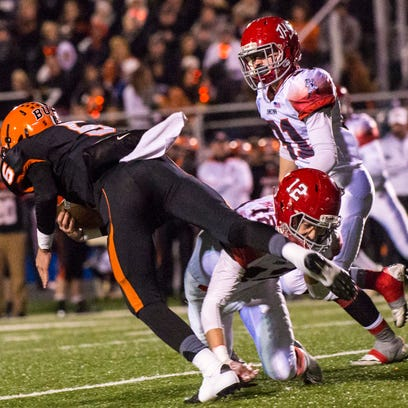 Johnstown lost to Wheelersburg in Friday night's Division