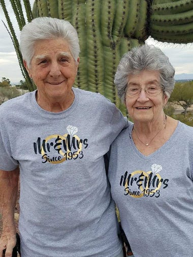 Don and Jo Ann Yannuzzi were married 65 years.