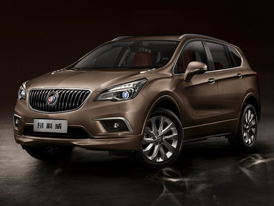 buick should sell envision compact suv in the u s. Black Bedroom Furniture Sets. Home Design Ideas