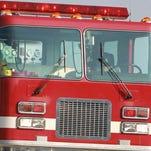 A fire truck