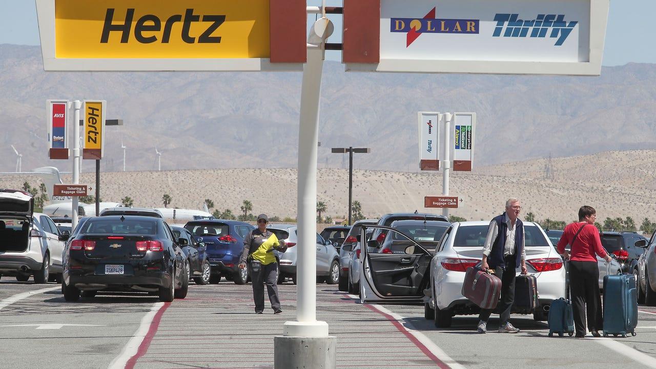 Rental Cars 1 Revenue Stream At Palm Springs Airport