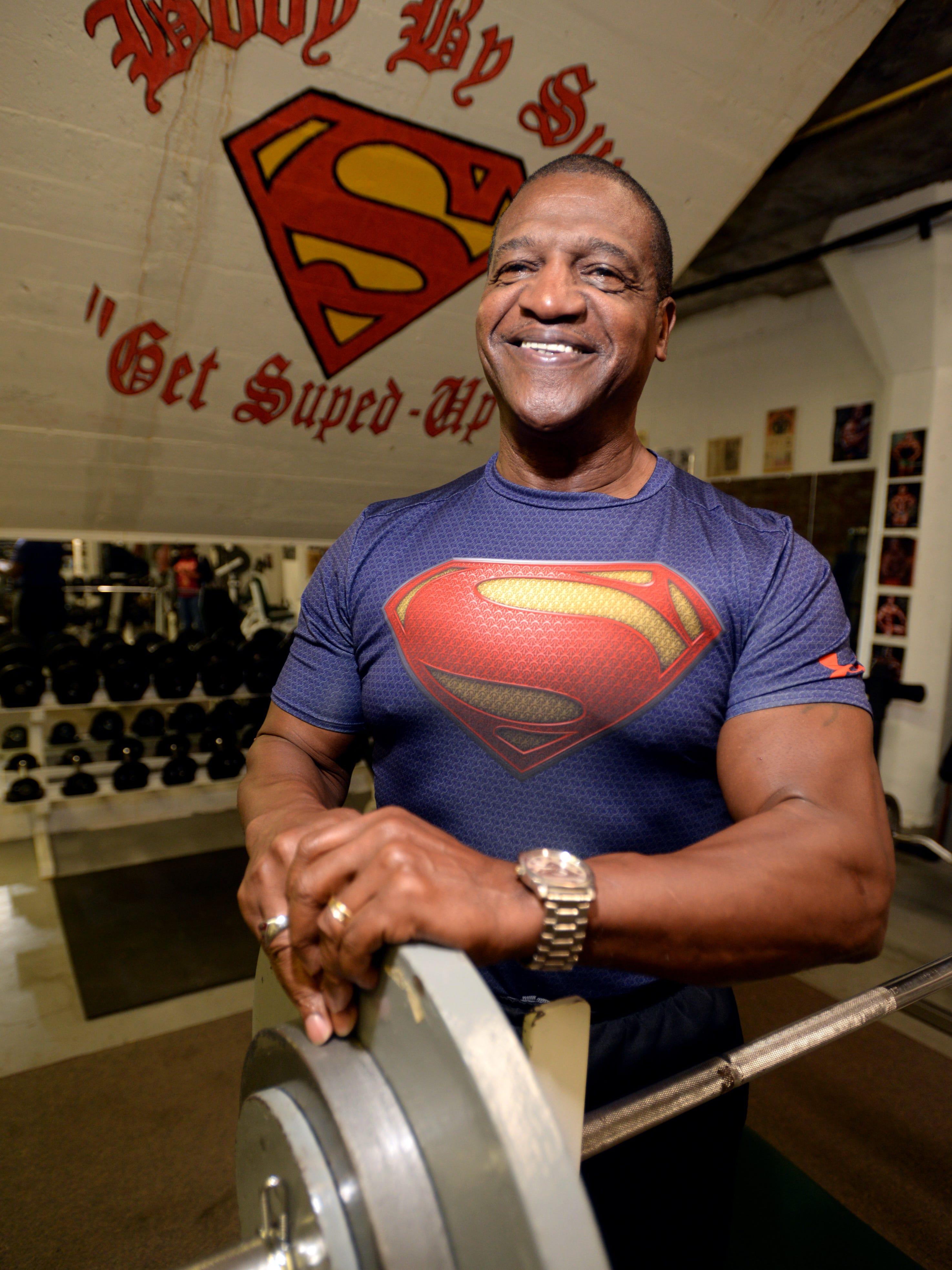 Mann bodybuilder Rick Valente