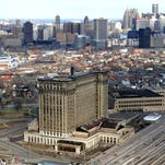 Detroit train station was a place where memories were made