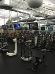Mike Pinheiro, 40, suffered a heart attack Feb. 6 after a short workout on an elliptical machine on the second floor of the Jungle Club Sports Complex.