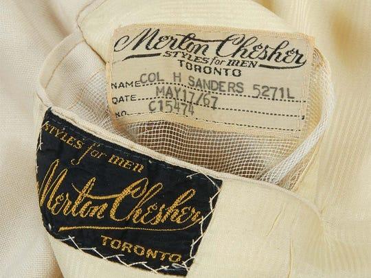 Authentic Colonel Sanders suit is up for auction until Aug. 17.