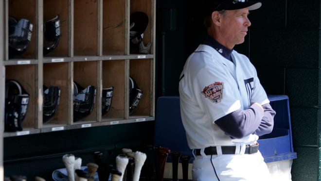 Tigers manager Alan Trammell had a rough season in 2003 when his team went 43-119.