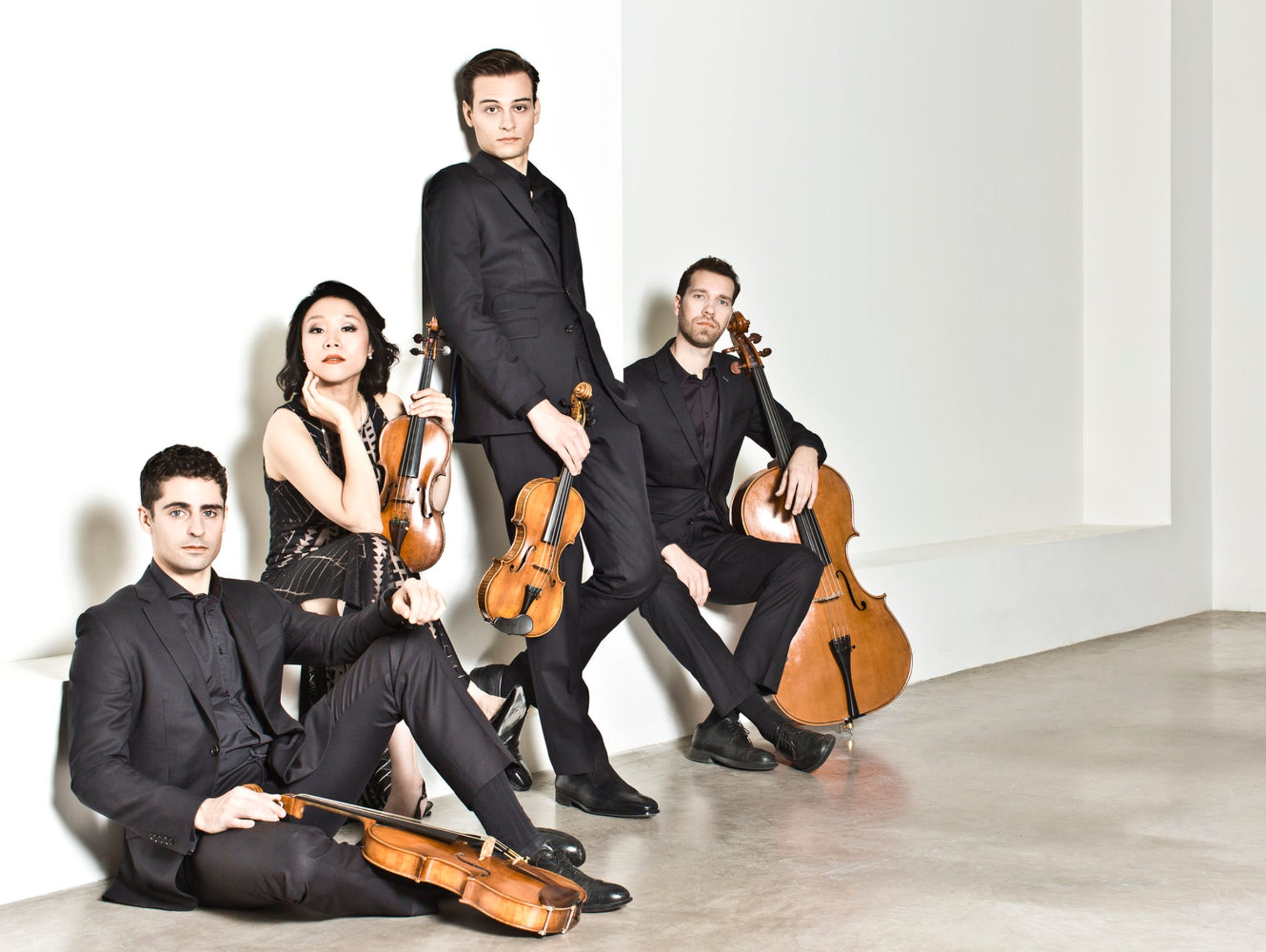 The Tesla Quartet performs at House of Rock on Friday