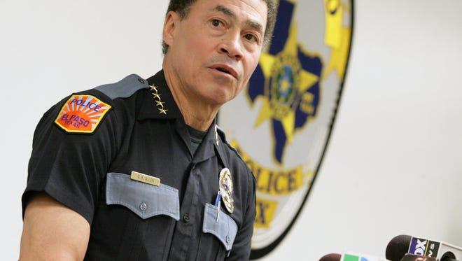 El Paso Police Chief Greg Allen
