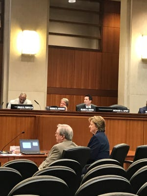 Sen. Sharon Hewitt, R-Slidell, told a Board of Regents committee that she favors consolidating the state's four college management boards.