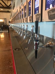 At Pour Taproom, you can fill your glass as much or