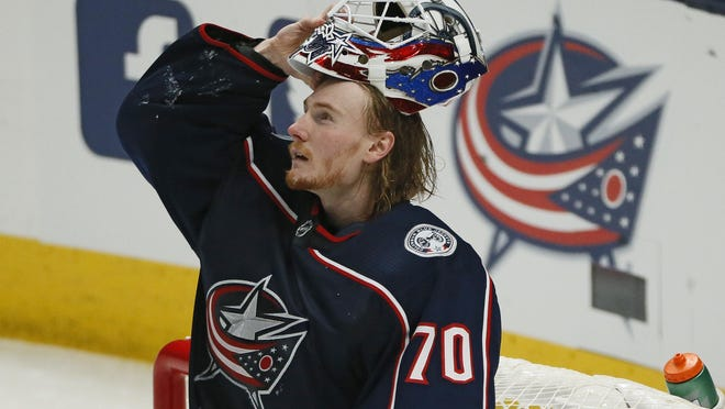 Joonas Korpisalo helped plug the Blue Jackets' vacancy at goaltender, earning an All-Star Game invitation.
