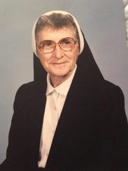 Sister Mary Murray was born in County Cork, Ireland.
