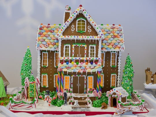 The Sweet Creations gingerbread display is held at the George Eastman Museum, 900 East Ave.