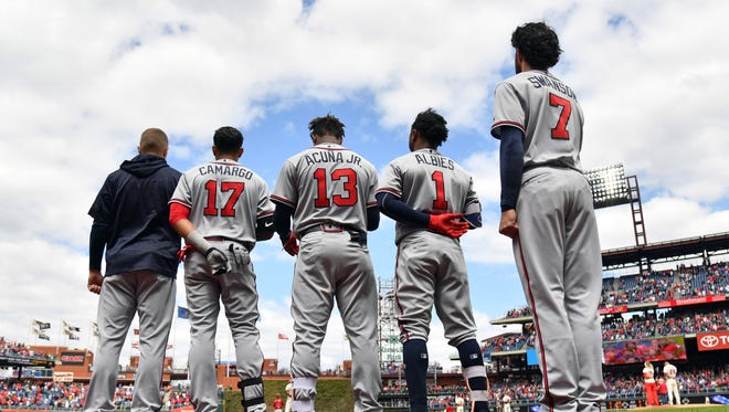 Ronald Acuna Jr. and Ozzie Albies have already impacted a young Braves roster - and now top pitching prospect Mike Soroka will join them.