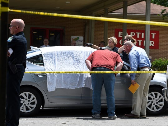 KPD investigates the scene of a fatal shooting on W.