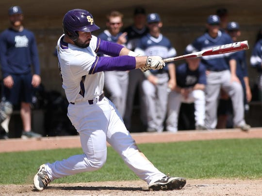 Kyle Mrozinski led the Pointers in a number of offensive statistical categories in his sophomore season.