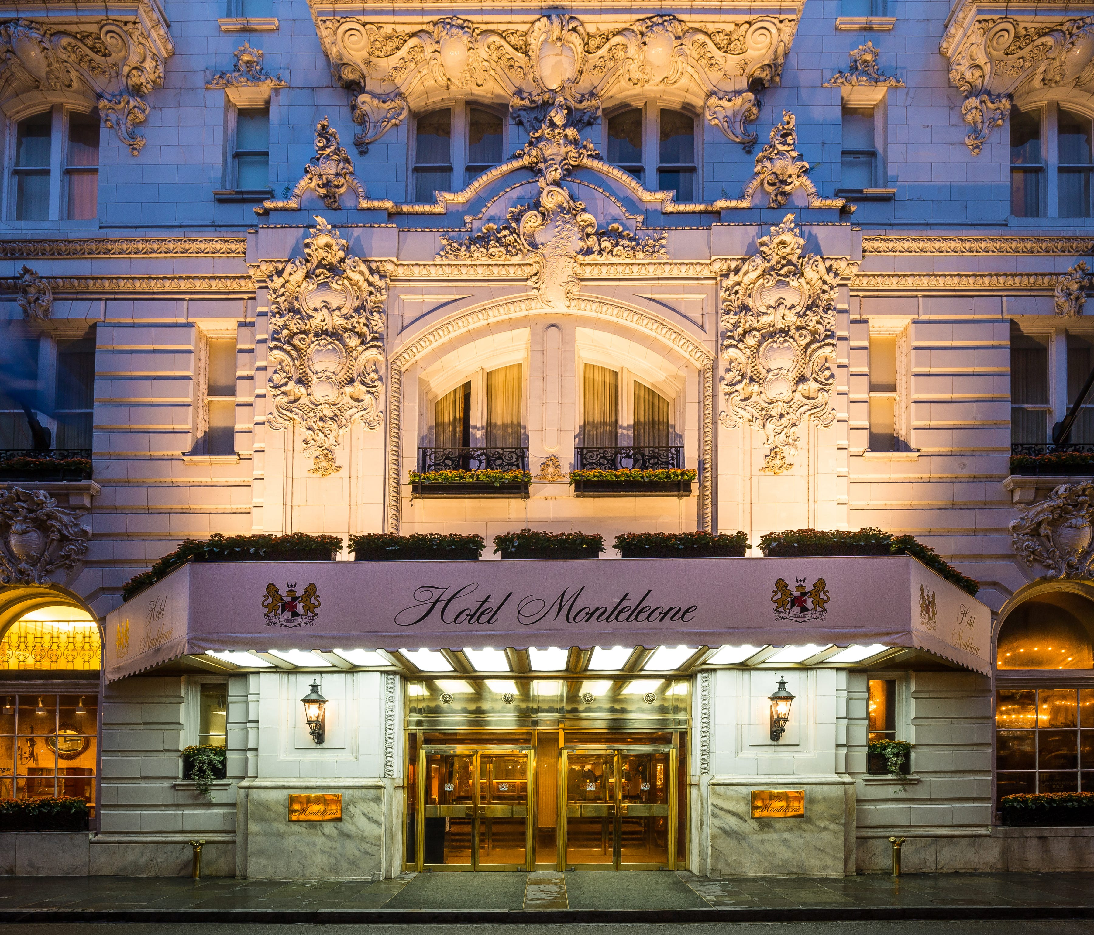 Hotel Monteleone, New Orleans is the 11th most in demand hotel in the city, according to Expedia.