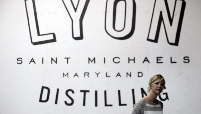 Jaime Windon and business partner Ben Lyon have established Lyon Distilling Company in St. Michaels, Md. The distillery produces rum and whiskey.