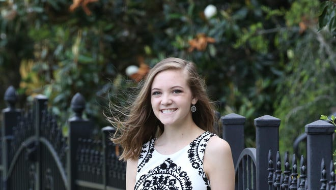 Brittan Lewis, 18, was admitted to the hospital for the flu last week.