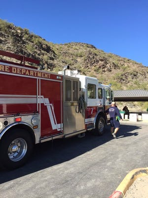 The Phoenix Fire Department responded to North Mountain after a hiker was found unresponsive on the trail, officials said.