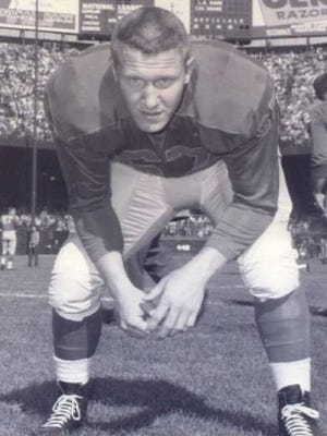 Rochelle grad Stan Campbell won three NFL titles as an offensive and defensive lineman for the Detroit Lions and Philadelphia Eagles.