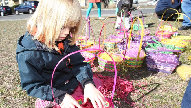 A Easter egg hunt is fun for everyone.